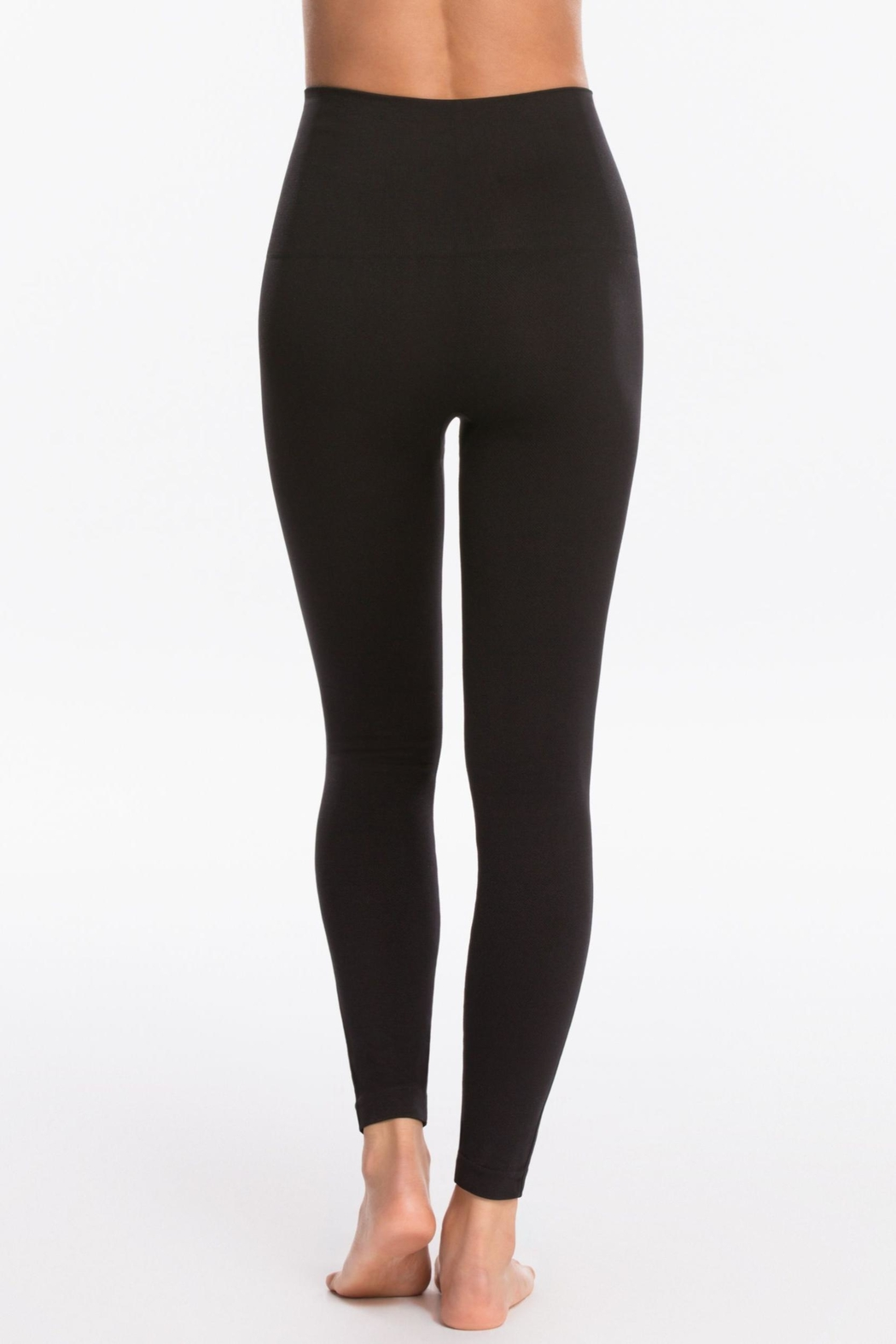Spanx Seamless Knit Legging - Side Cropped Image