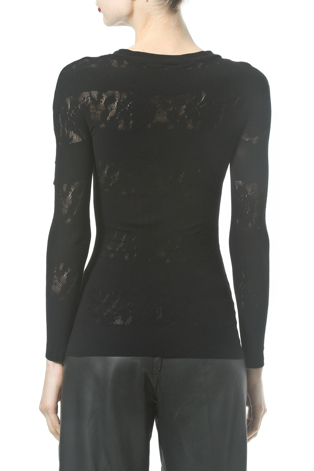 Madonna & Co Seamless Lace Inset - Side Cropped Image