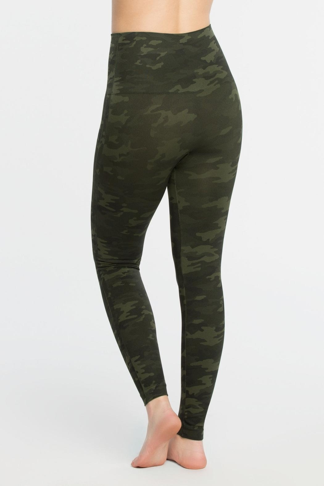 Spanx Seamless Leggings - Side Cropped Image