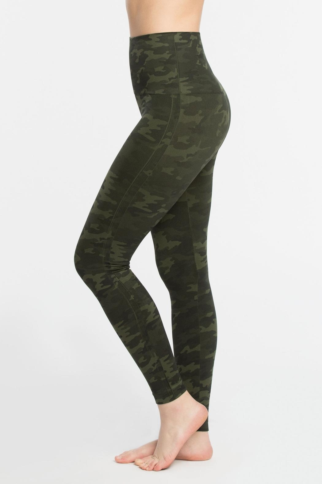 Spanx Seamless Leggings - Front Cropped Image