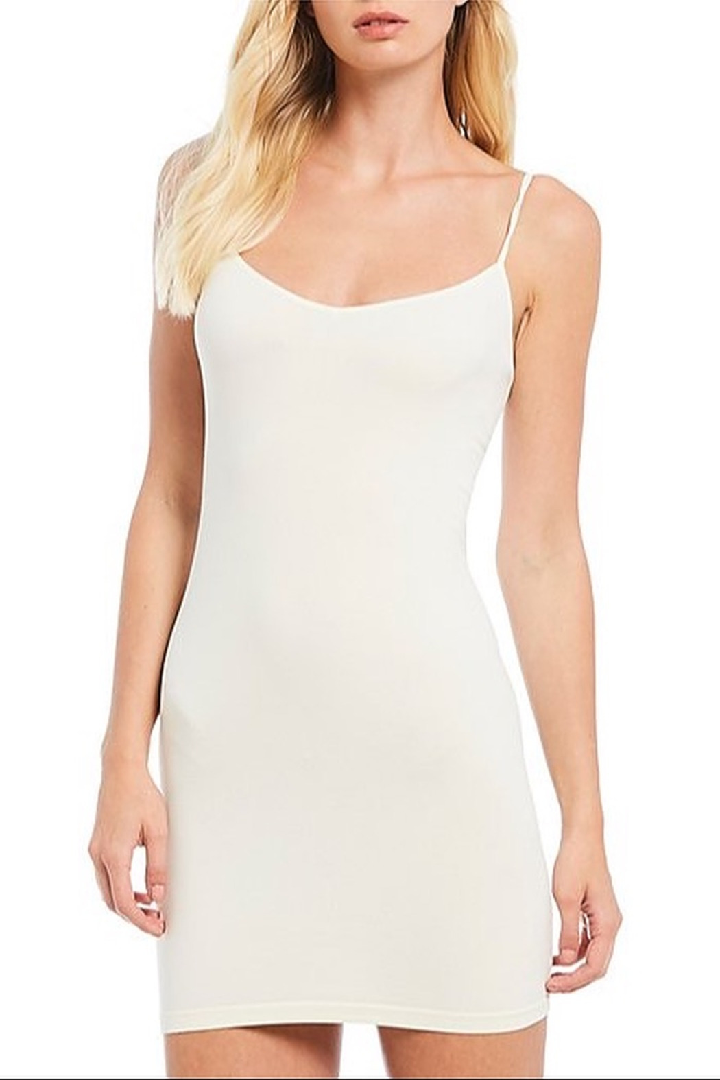 Free People Seamless Mini Slip - Front Cropped Image