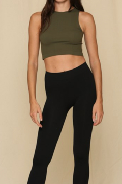 Shoptiques Product: Seamless Ribbed Crew Tank