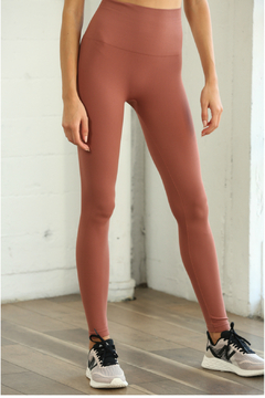 S1024 Seamless Ribbed Leggings - Product List Image