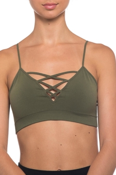 Seams Lovely Lace Up Bralette - Alternate List Image