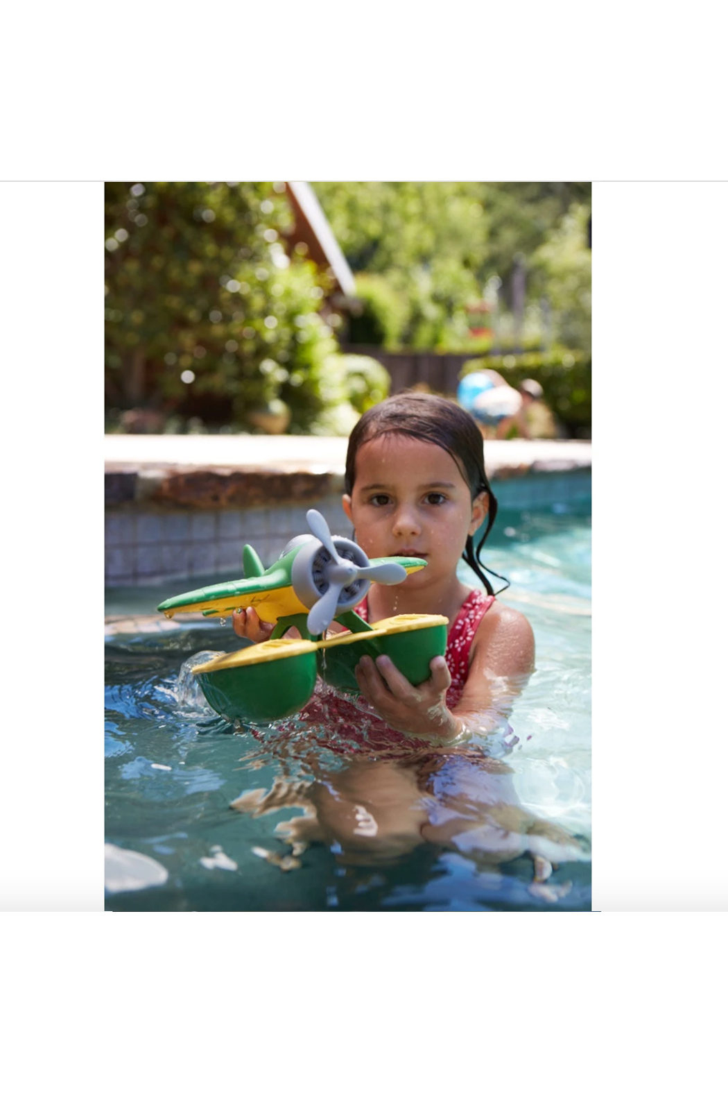 Green Toys Seaplane - Back Cropped Image