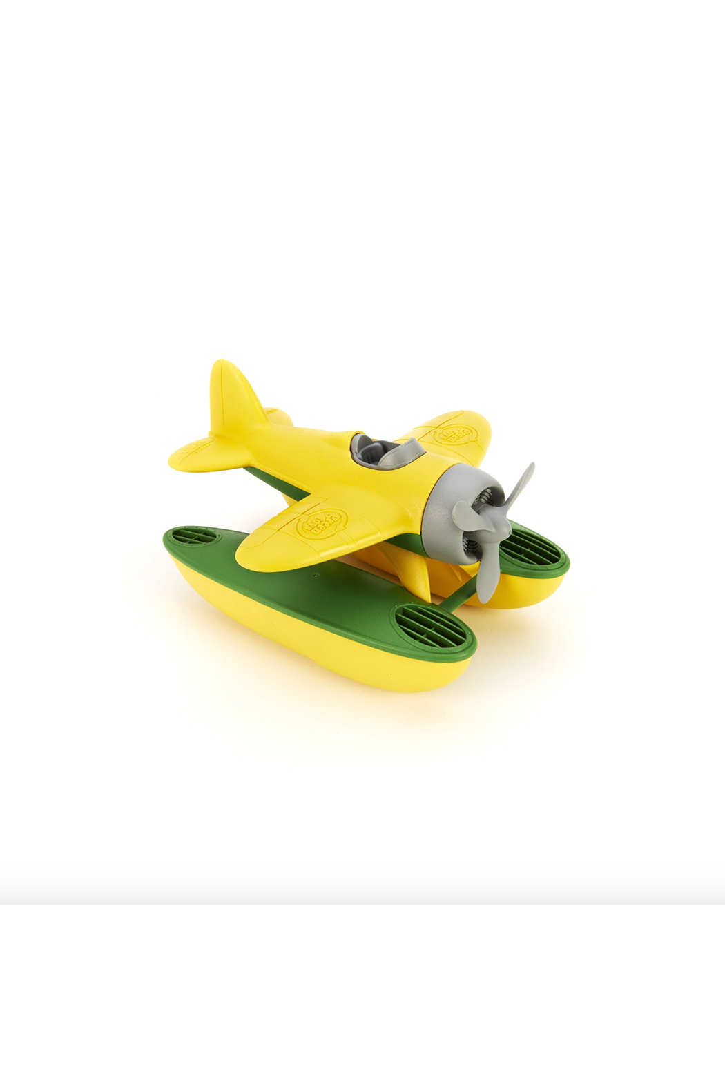 Green Toys Seaplane - Front Cropped Image