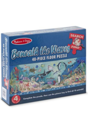 Melissa & Doug Search & FInd Beneath the Waves Floor Puzzle - Product Mini Image