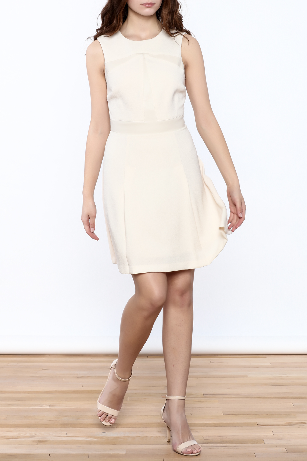 Search for Sanity Fit & Flare Dress - Front Full Image