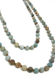 Searenity Amazonite Necklace - Front cropped