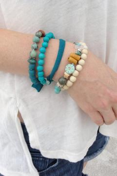 Searenity Artisan Blue Bracelet - Alternate List Image