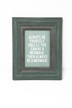 Shoptiques Product: Be Mermaid Frame