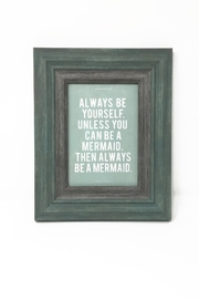Searenity Be Mermaid Frame - Front cropped