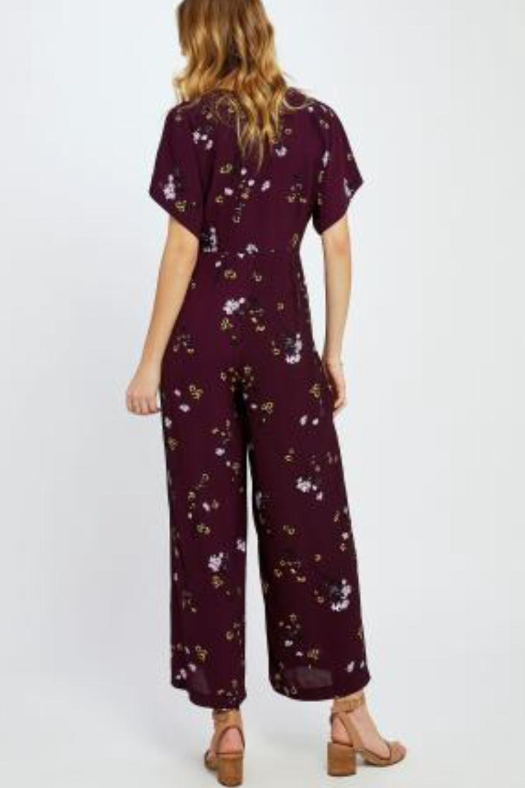 Gentle Fawn Searra Floral Jumpsuit - Side Cropped Image
