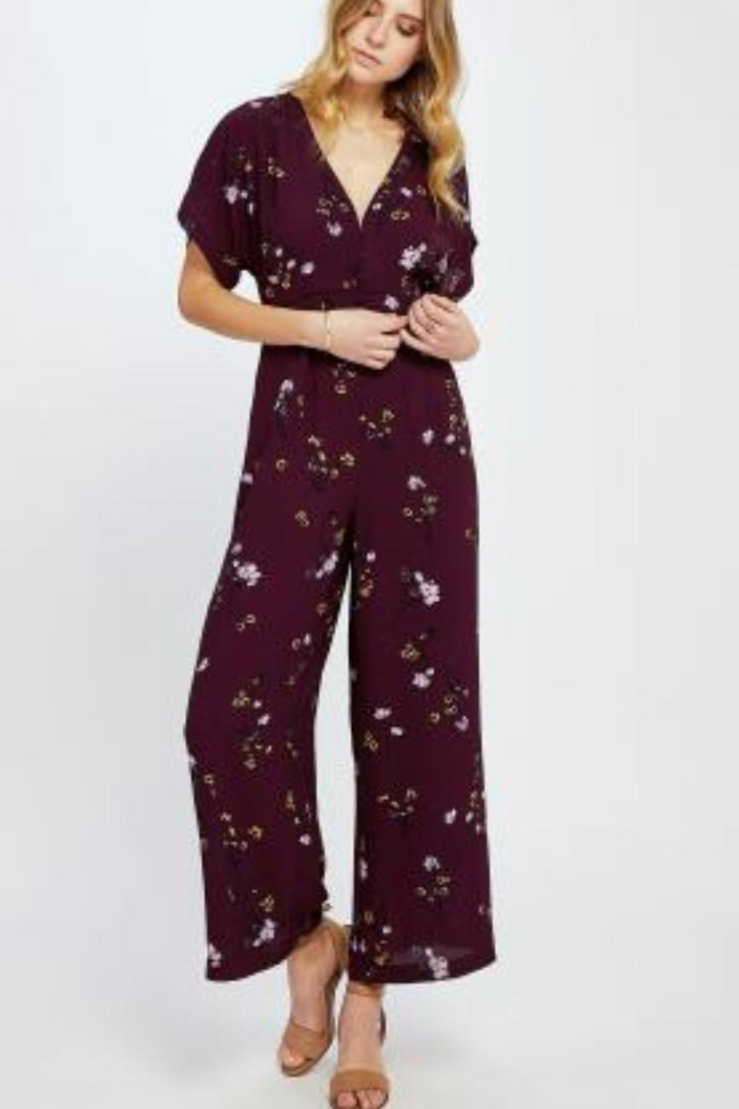 Gentle Fawn Searra Floral Jumpsuit - Main Image