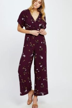 Shoptiques Product: Searra Floral Jumpsuit