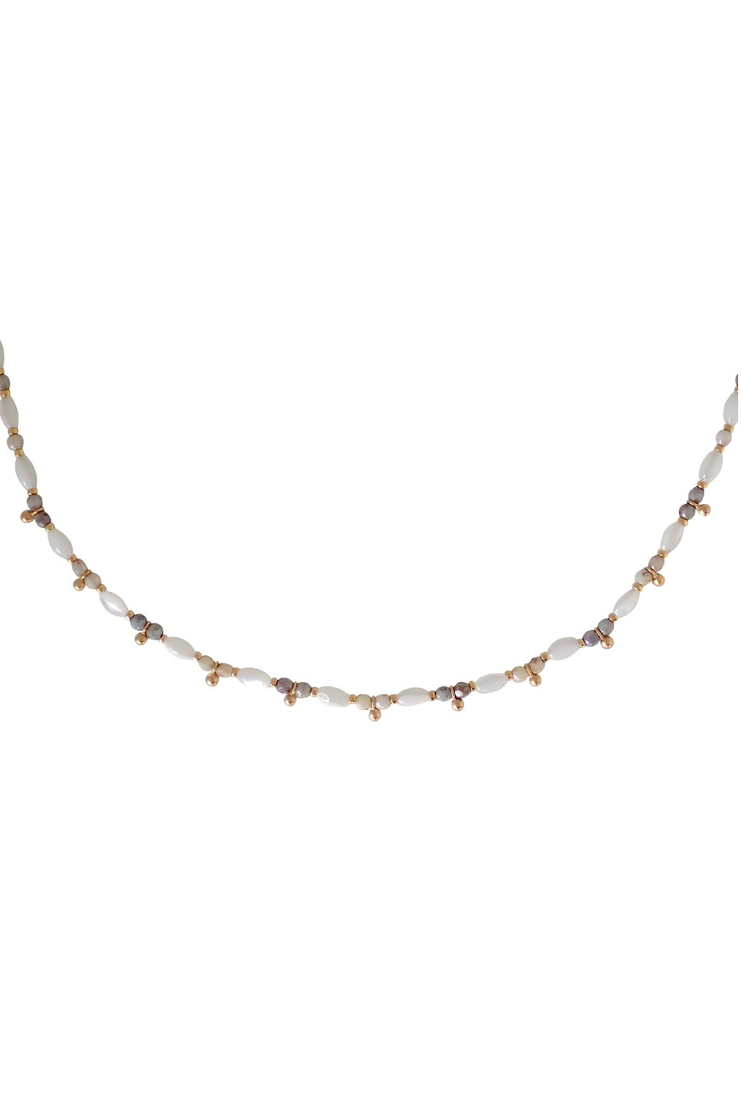 Bronwen Seascape Simple Necklace - Front Full Image
