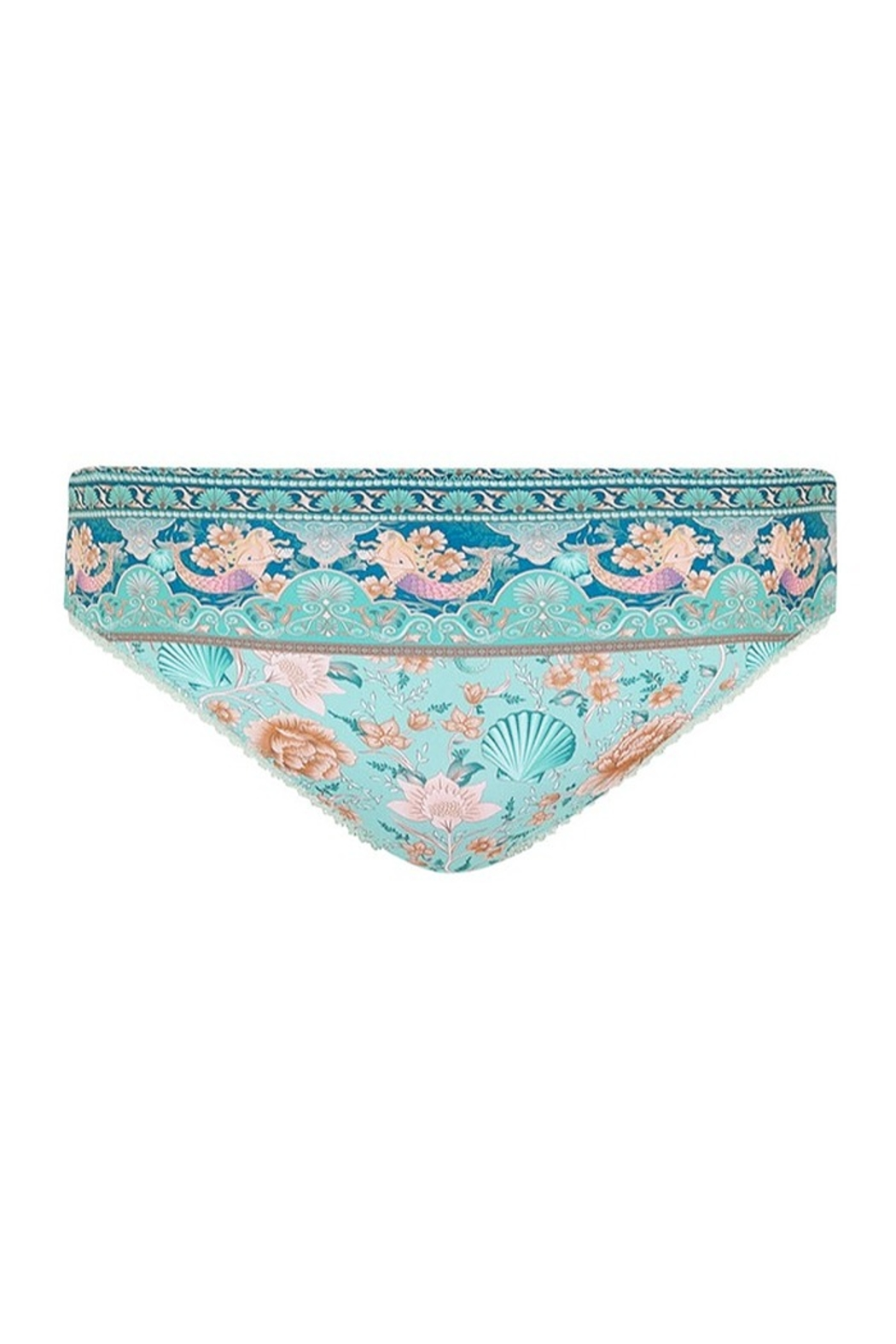 Spell & the Gypsy Collective Seashell Bloomers - Seafoam - Front Full Image