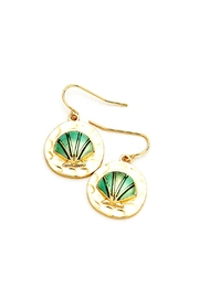 Wild Lilies Jewelry  Seashell Disc Earrings - Product Mini Image