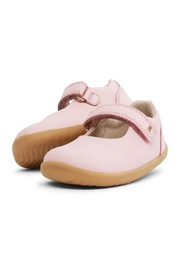 Bobux Seashell-Pink Mary-Jane Shoes - Front cropped
