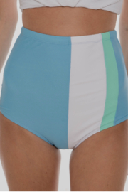 Coral Reef Swimwear  Seaside Colorblock High Waisted Bottoms - Product Mini Image