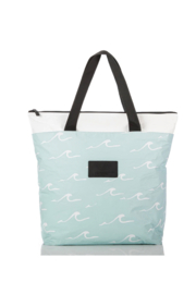 Aloha Collection Seaside Day Tripper in LeMU Blue - Back cropped