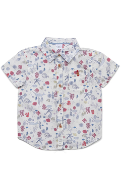 Egg  by Susan Lazar Seaside Print Adrian Shirt - Product List Image