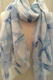 deannas seaside scarf - Front cropped