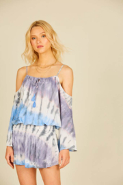 Surf Gypsy Seaside Smock Waist Dress - Product Mini Image