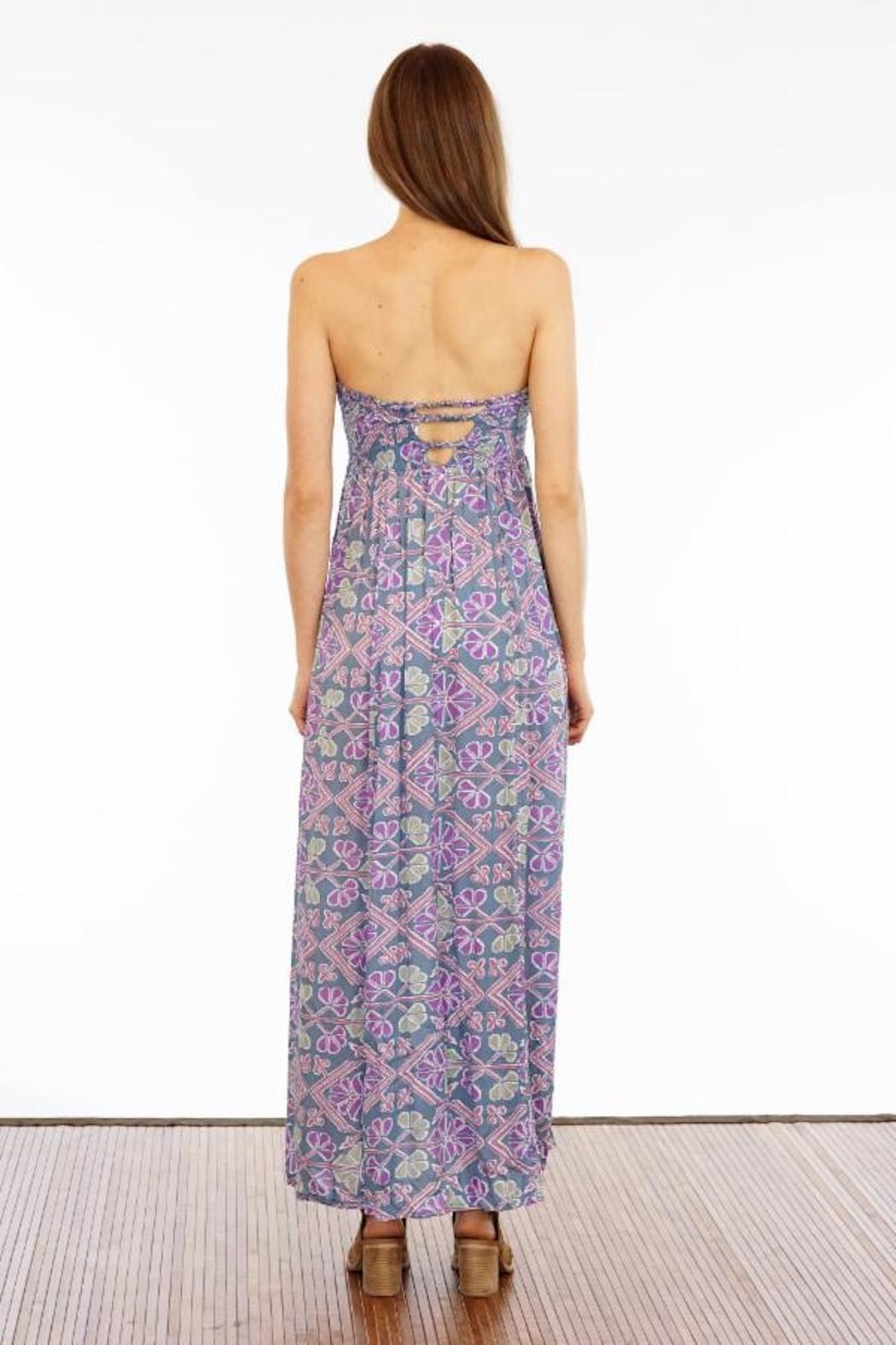Tiare Hawaii Seaside Strapless Maxi - Front Full Image