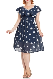 Voodoo Vixen Seaside Tea Dress - Product Mini Image