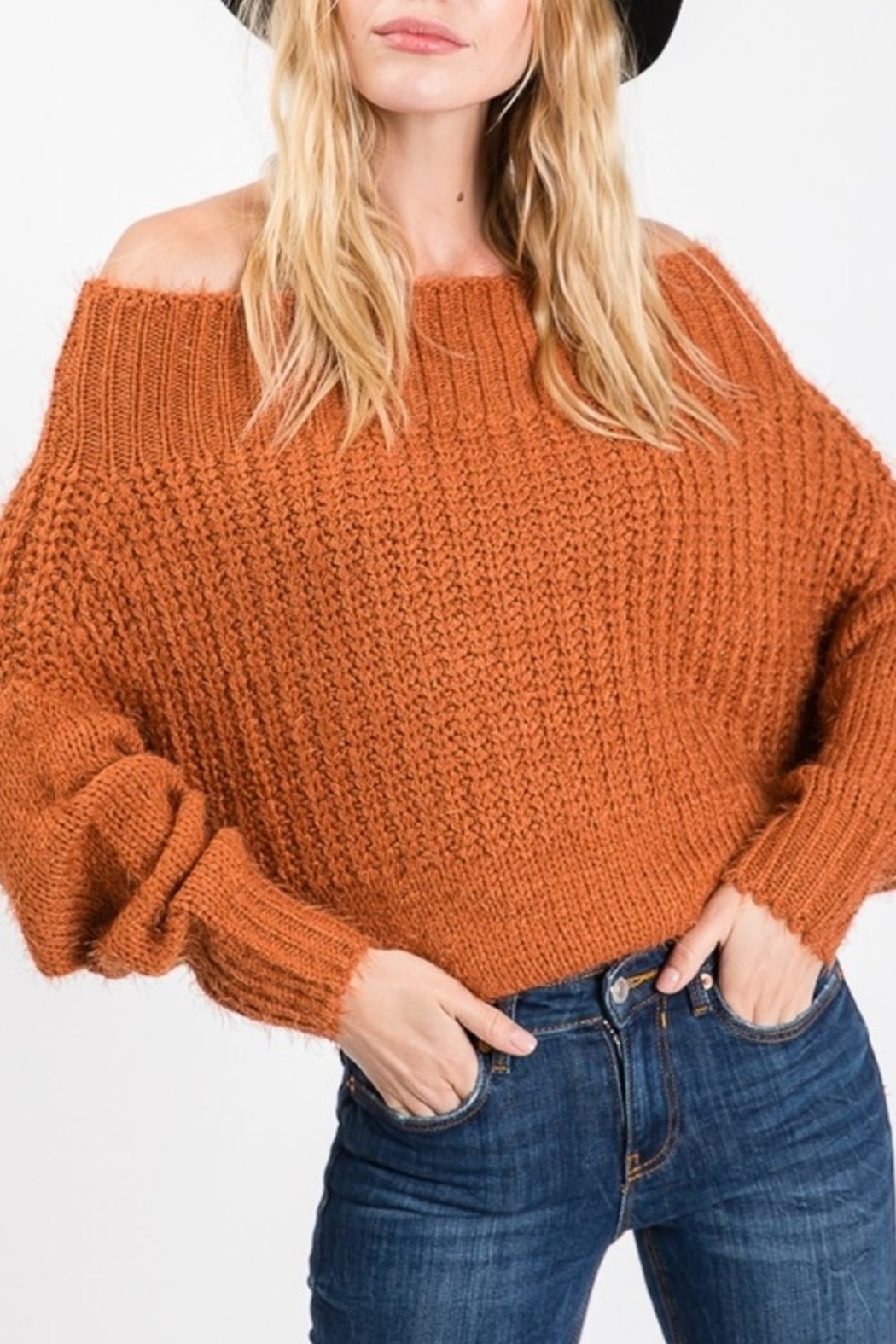 Kayla Armoire Seasonal Sass Sweater - Front Cropped Image