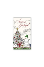 Michel Design Works Seasons/greetings Hostess Napkins - Product Mini Image
