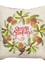 RAZ Imports Seasons Greetings Pillow - Product Mini Image