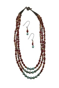 Seasons In Stone Agate Turquoise Set - Product List Image