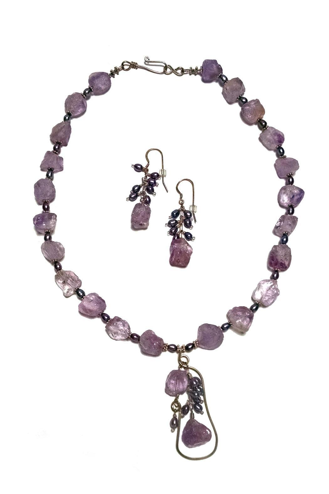 Seasons In Stone Amethyst Nuggets Set - Main Image