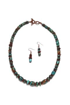 Seasons In Stone Kingman Turquoise Set - Alternate List Image