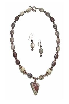 Seasons In Stone Porcelain Jasper Set - Alternate List Image