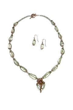Seasons In Stone Prasiolite Silver Necklace - Alternate List Image