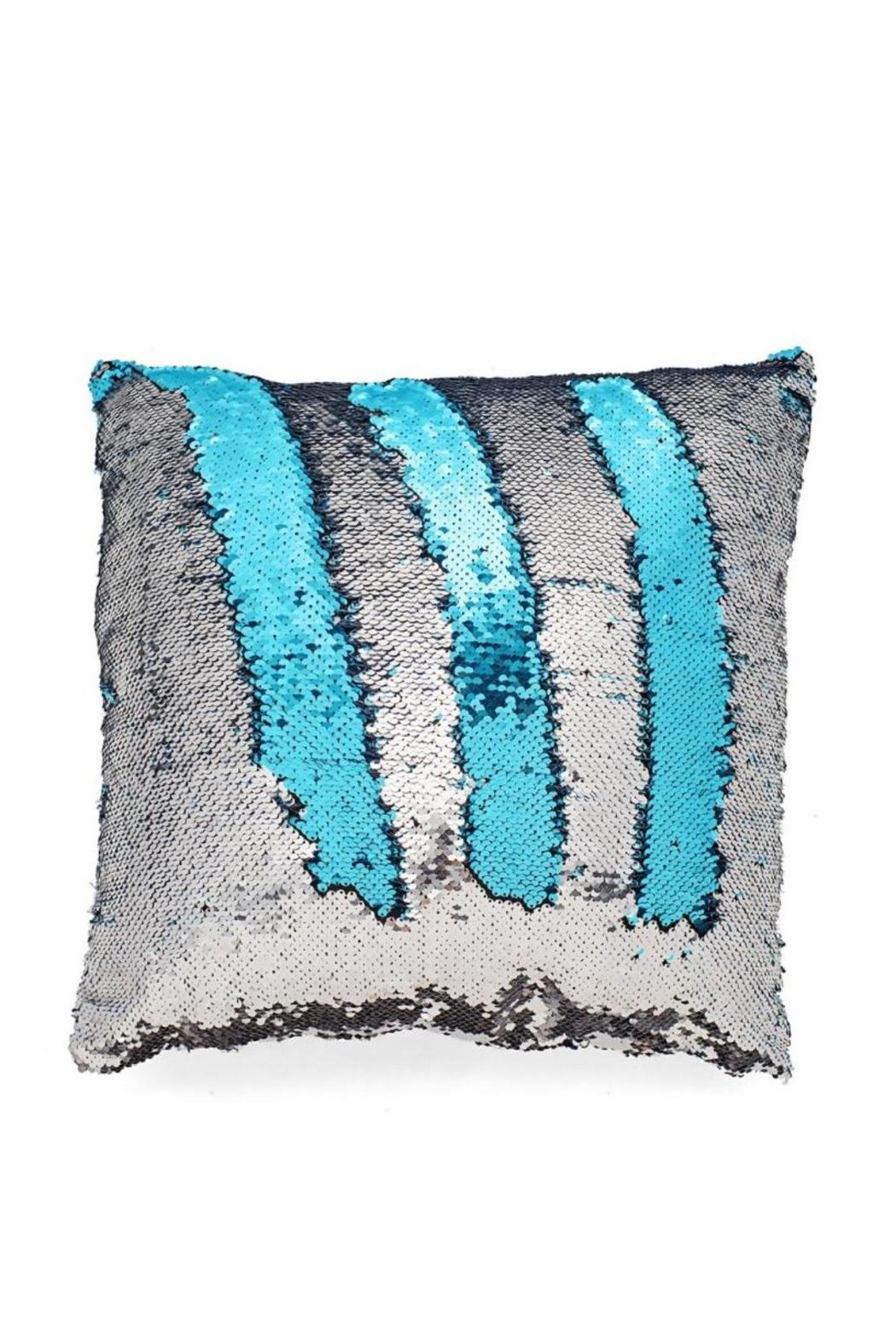 Seatail Mermaid Pillow Cover - Front Cropped Image