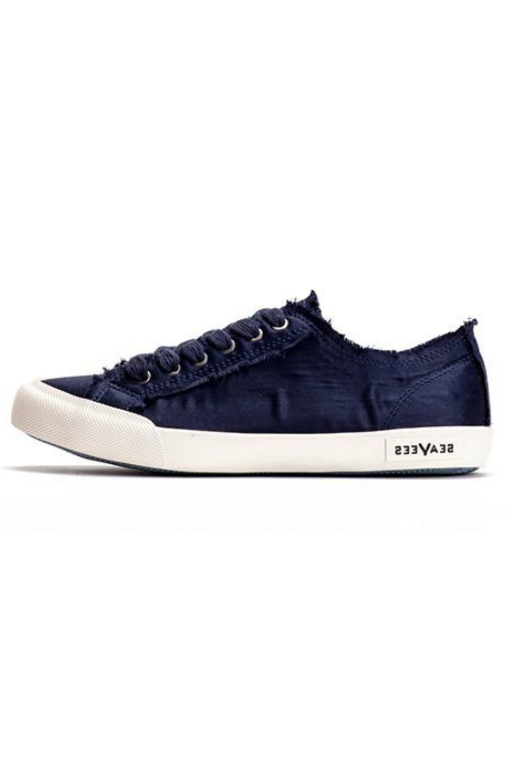 SeaVees Monterey Satin Sneaker - Front Cropped Image