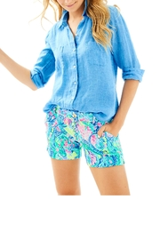 Lilly Pulitzer Seaview Button-Down Top - Product Mini Image
