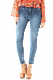 Funky Soul Denim Second Skin Hi Rise Jeans - Product Mini Image