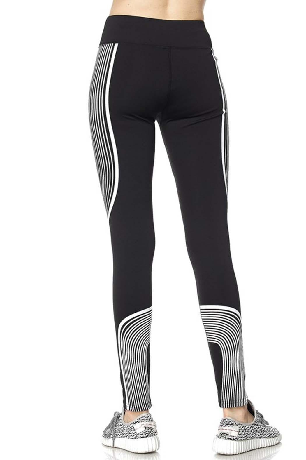 New Mix Second Skin Legging - Side Cropped Image