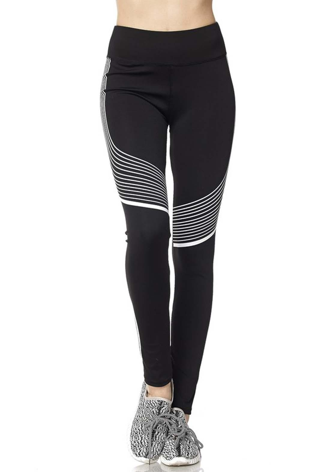 New Mix Second Skin Legging - Front Full Image
