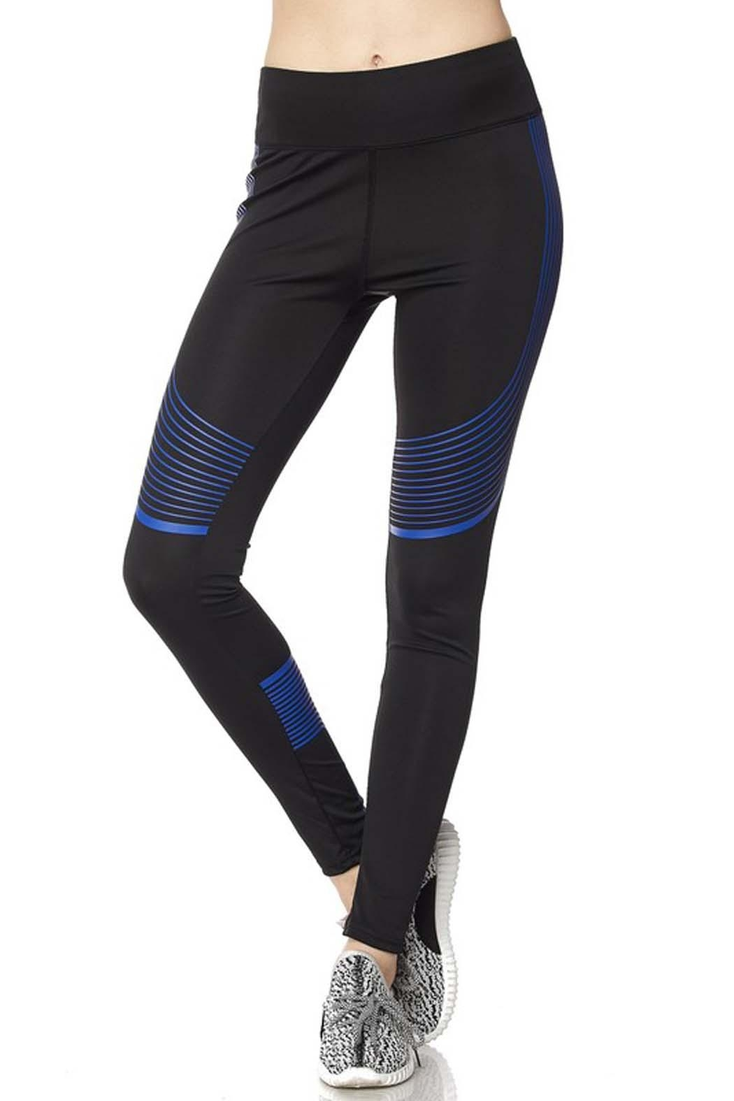 New Mix Second Skin Legging - Front Cropped Image