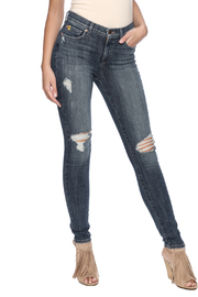 Second Yoga Jeans High Rise Skinny Jean - Product Mini Image