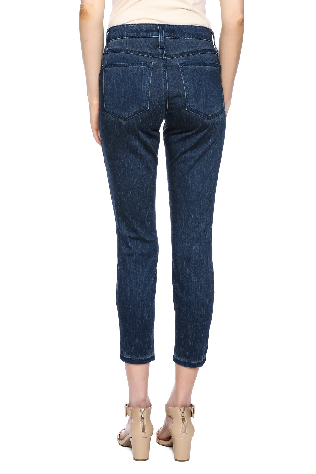 Second Yoga Jeans Softest High Rise Jean - Back Cropped Image