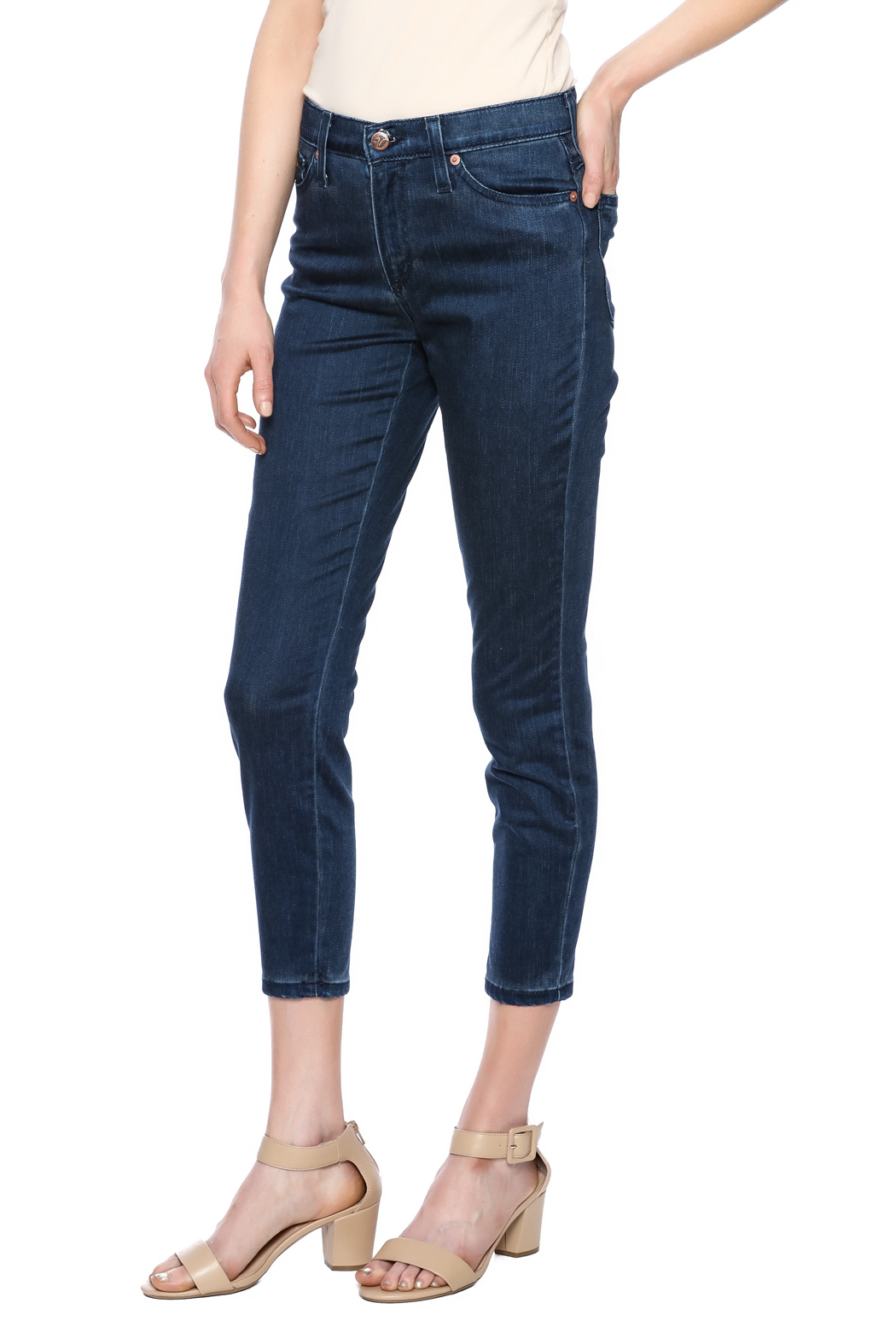 Second Yoga Jeans Softest High Rise Jean - Main Image