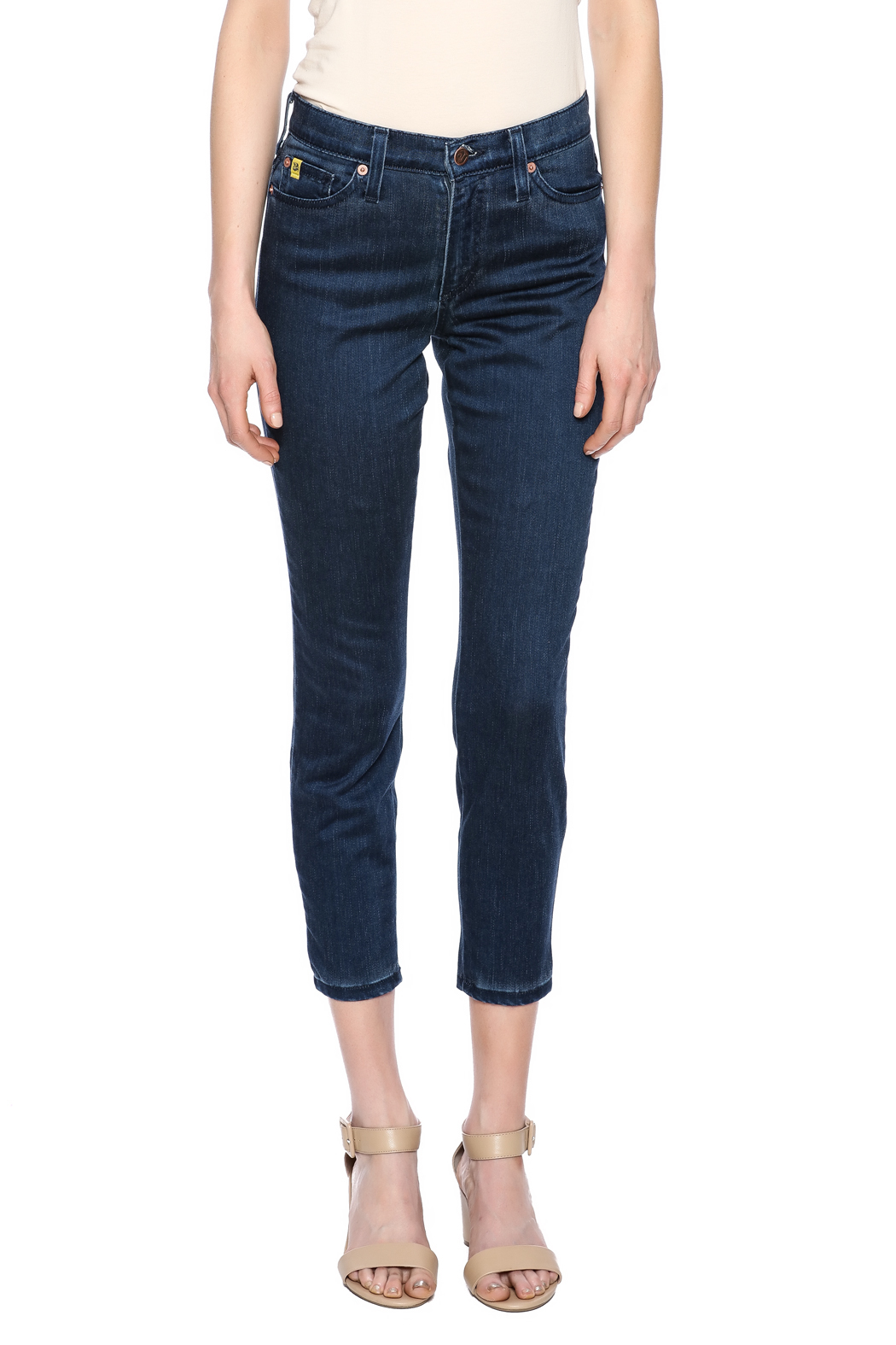 Second Yoga Jeans Softest High Rise Jean - Side Cropped Image