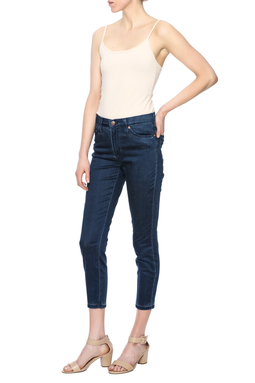 Second Yoga Jeans Softest High Rise Jean - Front Full Image